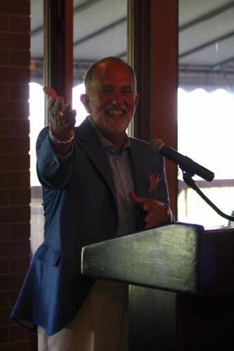 Kevin Altomari thanking everyone