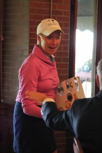 Rona Nesbit sweeping skill prizes